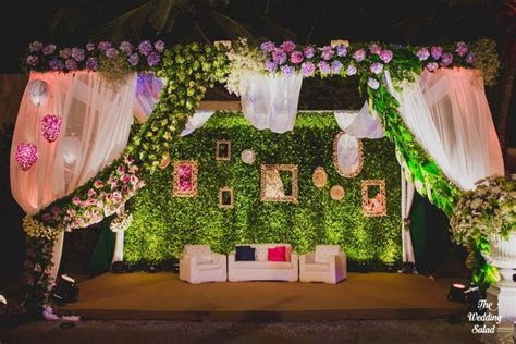 New Stage Backdrop Ideas We are Loving These Days!   WedMeGood
