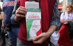 Costituzione: Landini, si dovrà rispondere a questa piazza