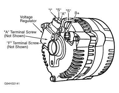 2006 Ford Explorer Alternator Wiring Diagram Wiring Data