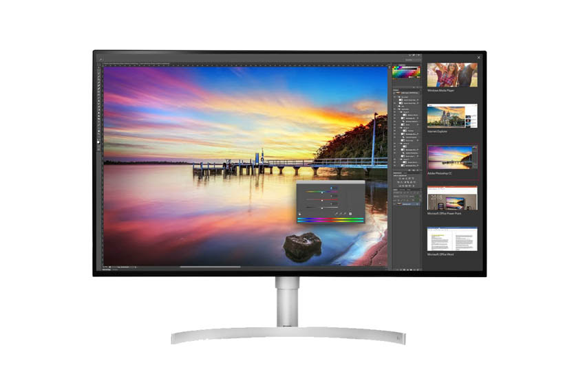 The New, Massive LG Monitors for Pros Built for Video Editors, Photographers, and Developers