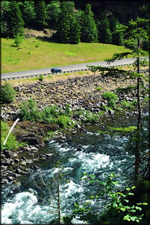 Hwy 224 from the Clackamas River Trail