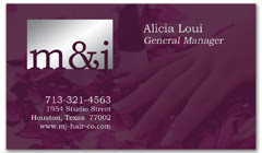 BCS-1084 - salon business card