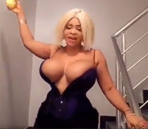 Cossy Orjiakor Bares Her Massive Cleavage In Open-Chest Outfit (Photos)