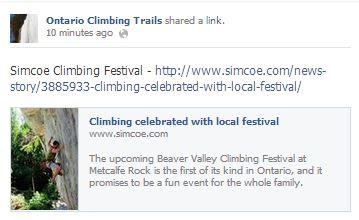 simcoe climbing festival