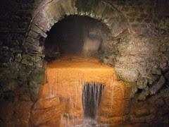 Roman Bath, mineralization