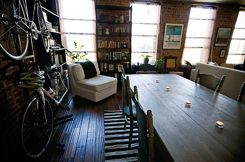 Bikes in the apartment