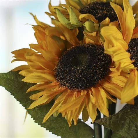 Artificial Sunflower Bundle   Bushes and Bouquets   Floral