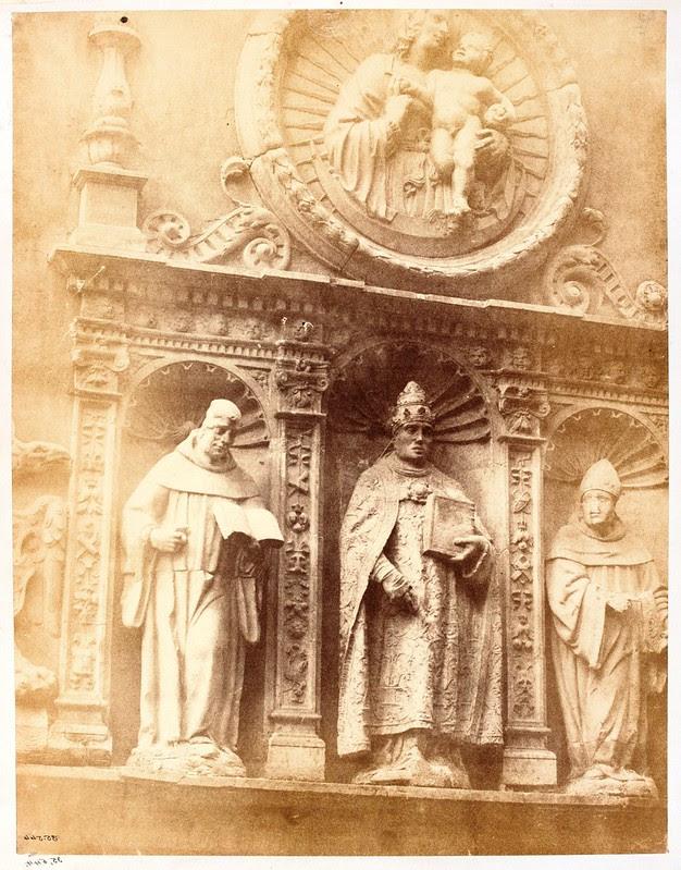 Portada del Convento de San Clemente en 1853 fotografiada por Charles Clifford. Victoria and Albert Museum, London