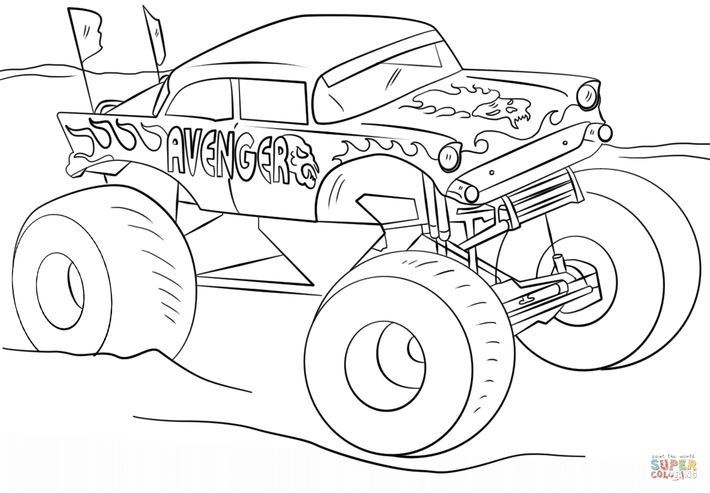Klick das Bild Avenger Monster Truck