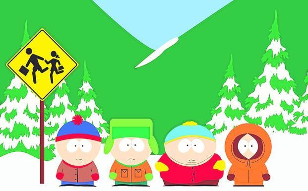 Los niños de 'South Park'.