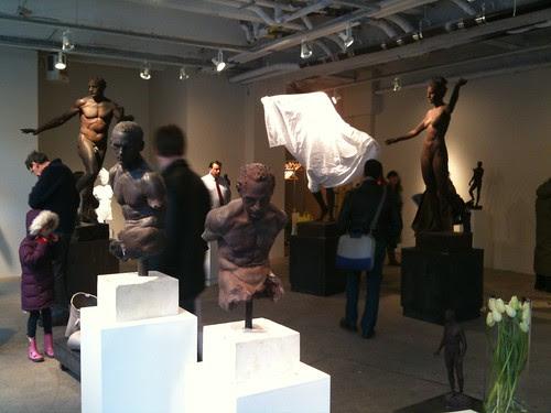 Apollo, Sabin Howard's pop-up exhibit
