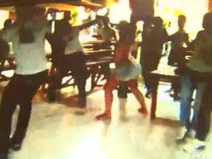 Briga em escola (Foto: Reprodução TV Acre)