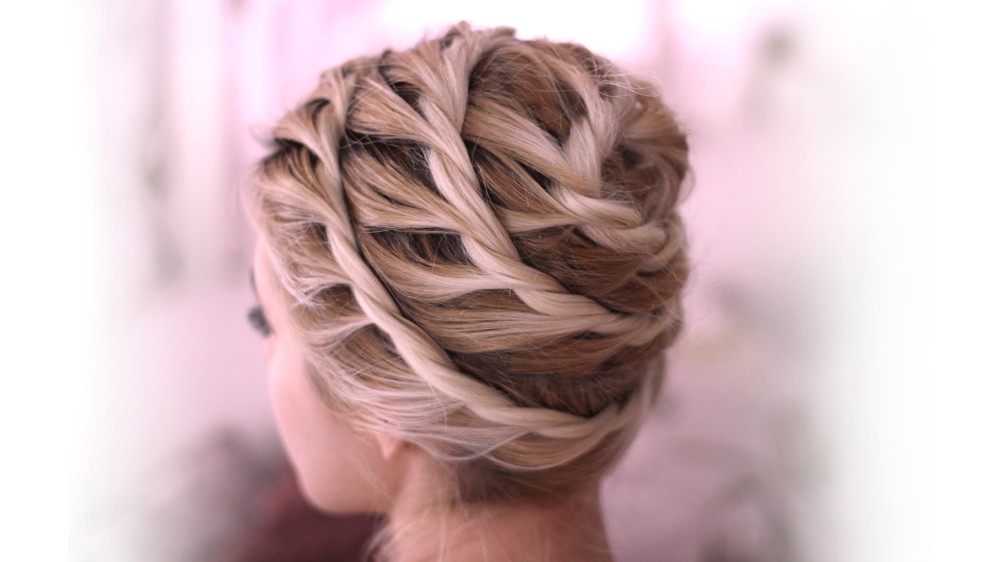 Everyday updo  hairstyle  for medium long  hair  tutorial