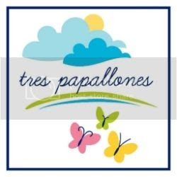 tres papallones