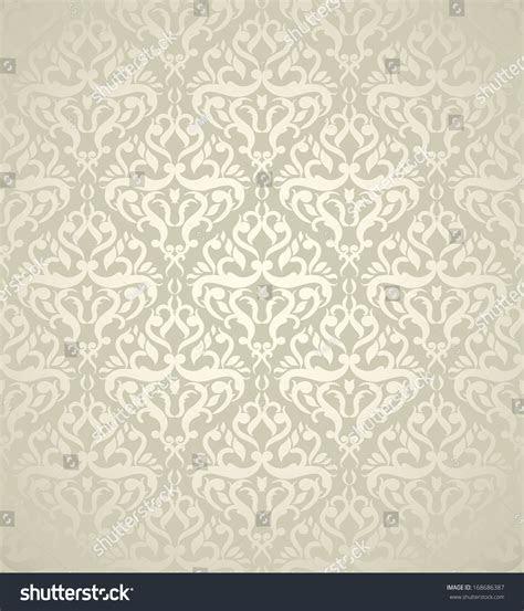 Elegant Wedding Background Light Damask Design Stock
