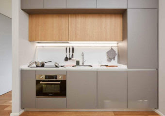 Stylish Yet Space Saving Small Modular Kitchen Design