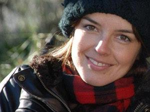 A atriz brasileira Carolina Monte Rosa, que vive em Baltimore, nos EUA