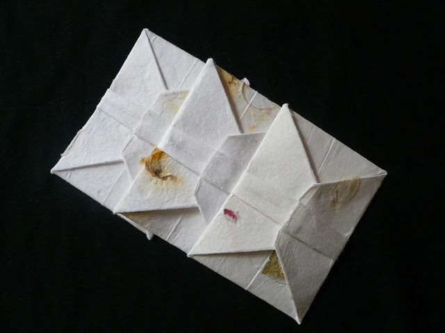 Origami Letters (back view)