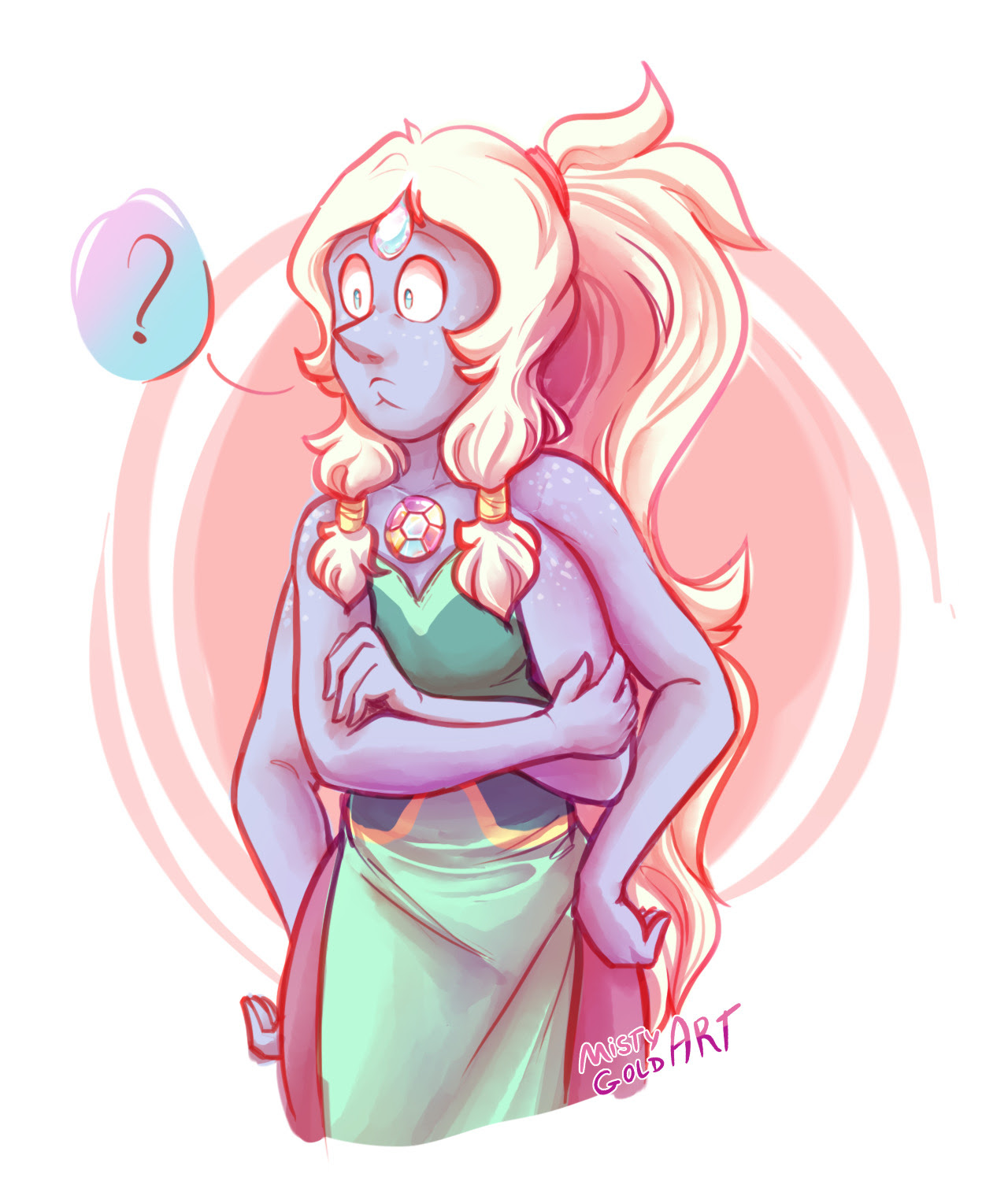 Pearlmethyst week day 7 - #HopalForOpal @annadesu @fuckyeahpearlmethyst *slams fist on the table* WHERE!! IS!! MY!! OPAL!! Crewniverse please…. I miss her so much she's one of my most favorite fusions...