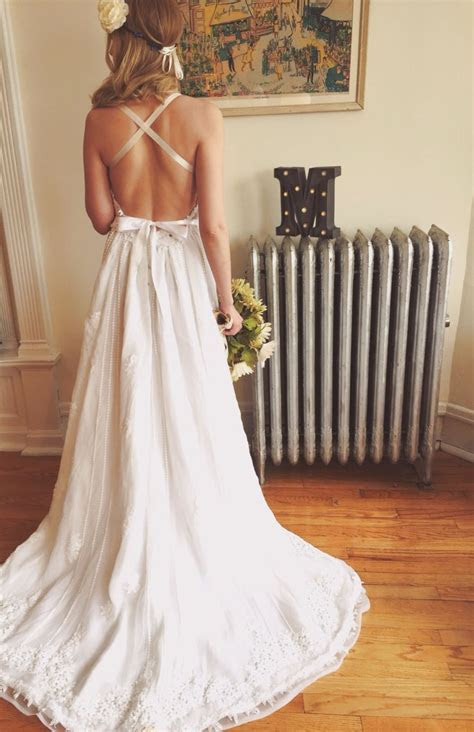 Top 25  best Backless wedding dresses ideas on Pinterest