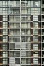 Modern Apartment Block Facade-3903   stockarch