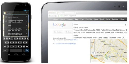 Google Maps for Android update brings your mapping search history to handhelds