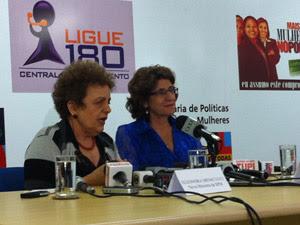 A nova ministra da Secretaria de Política para Mulheres, Eleonora Menicucci, que assumirá lugar de Iriny Lopes (Foto: Natalia Godoy / G1)