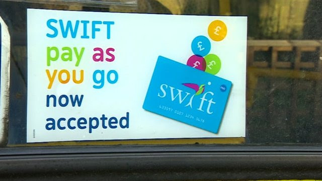 Swift payment card sign