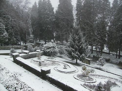 Neve em Braga