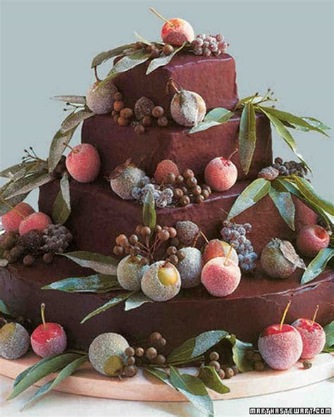 Modern Wedding Cakes   Martha Stewart Weddings