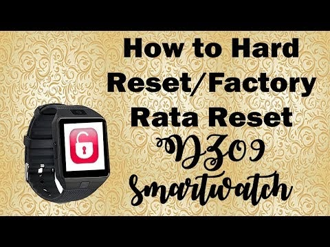 Connect smartwatch to android phone HOW: How to do a factory reset