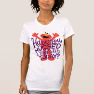 Elmo Hugging T Shirt