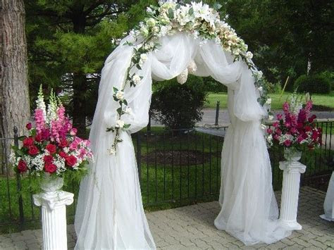 Before you plan the wedding arch decorations, for the