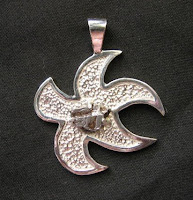 Custom meteorite pendant from Payne's Custom Jewelry