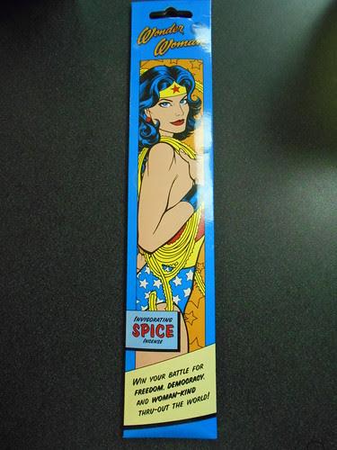 wonder woman incense