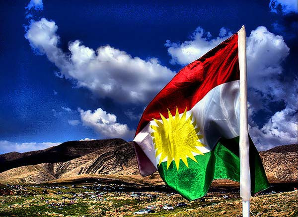 Risultati immagini per kurd flag