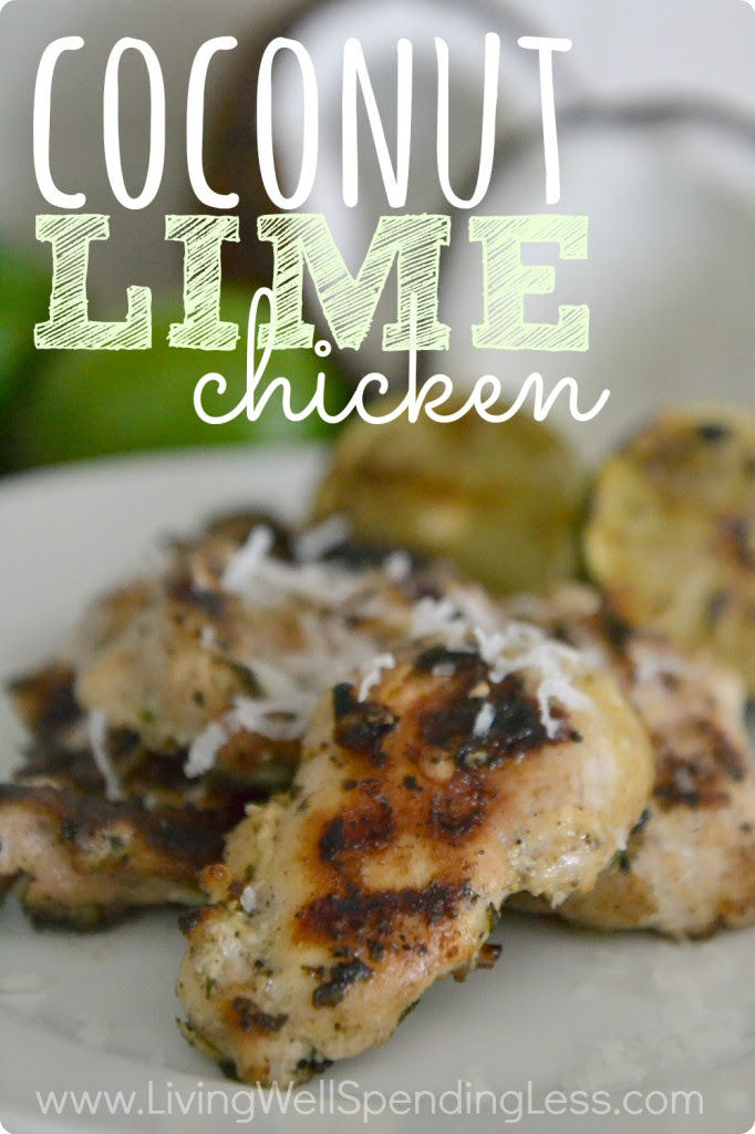 Coconut Lime Chicken Vertical