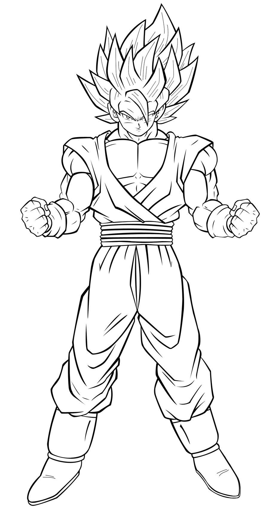 Coloriage Dragon Ball Super Black Goku Dragon Ball Z Goku Super