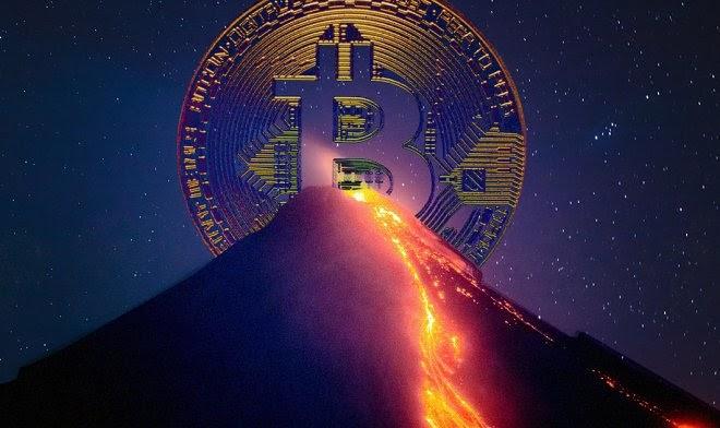 В Сальвадоре начали добывать государственный биткоин, используя энергию действующего вулкана