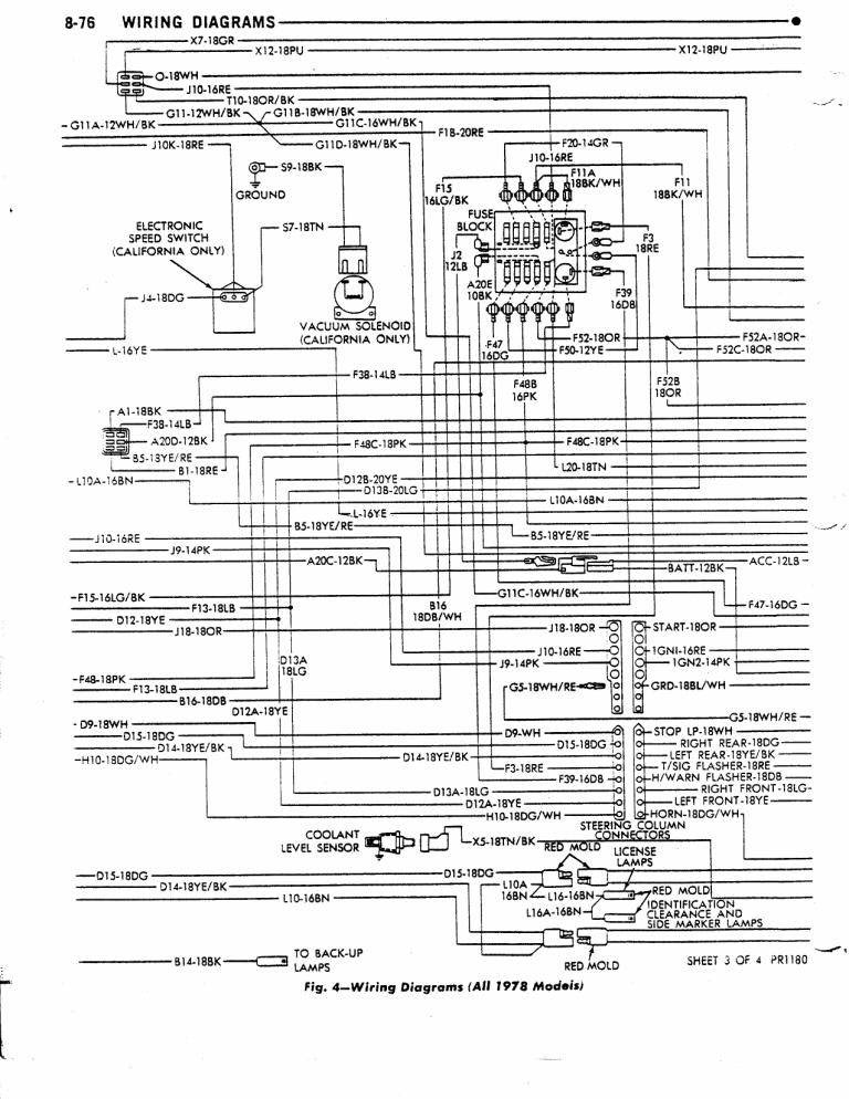 Dave S Place 78 Dodge Class A Chassis Wiring Diagram