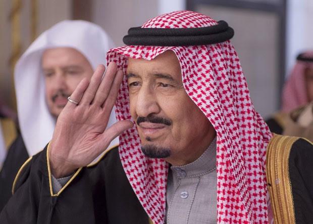 O novo rei da Arábia Saudita, Salman, em foto de 6 de janeiro de 2015 (Foto: Saudi Press Agency/AP)