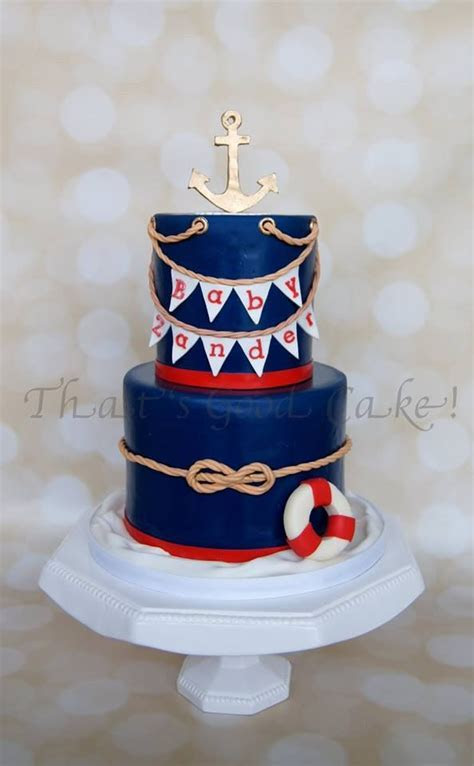 17 Best images about Nautical Cake Ideas on Pinterest