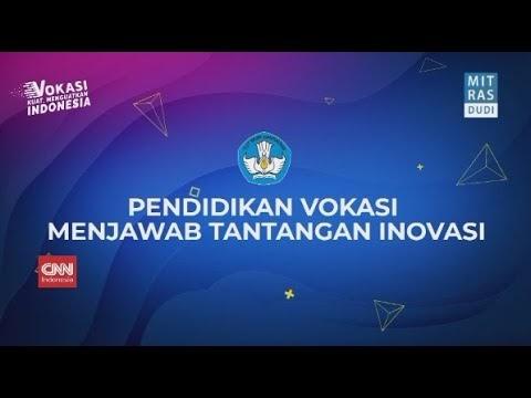 "Webinar ""Pendidikan Vokasi Menjawab Tantangan Inovasi"" dari Ditjen Pendidikan Vokasi Kemdikbud"