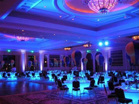 banquet hall premium led lighting kit  table