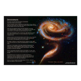 Desiderata - The Rose Galaxies, Arp 273