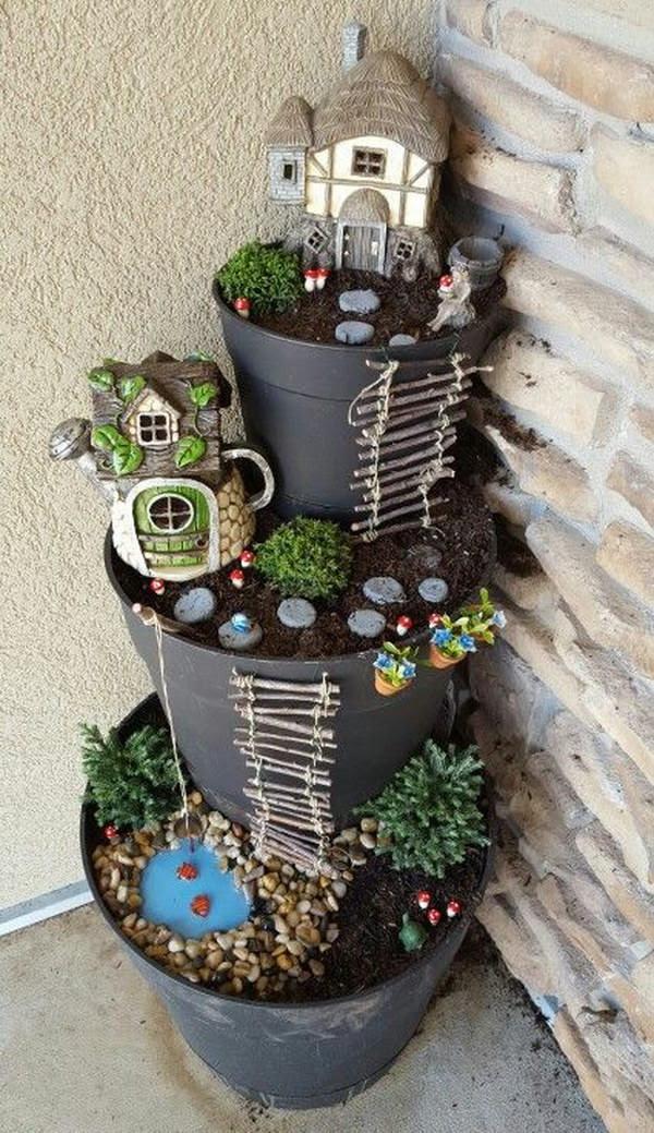 35 Awesome DIY Fairy Garden Ideas & Tutorials - Gardening ...