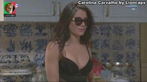 Carolina Carvalho super sensual na novela Vidas Opostas