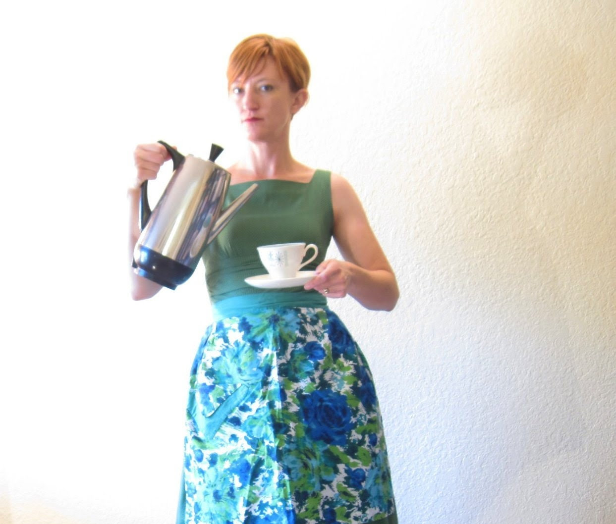 Vintage 50s Special Edition Farberware Superfast Percolator. Model 122B. Mid Century Modern. - ChatteJolie