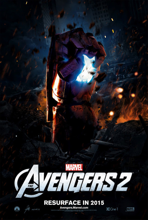 The Avengers 2 poster