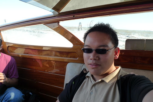 Me in the water taxi